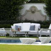 The Legacy Club chair is great on the patio or by the pool.