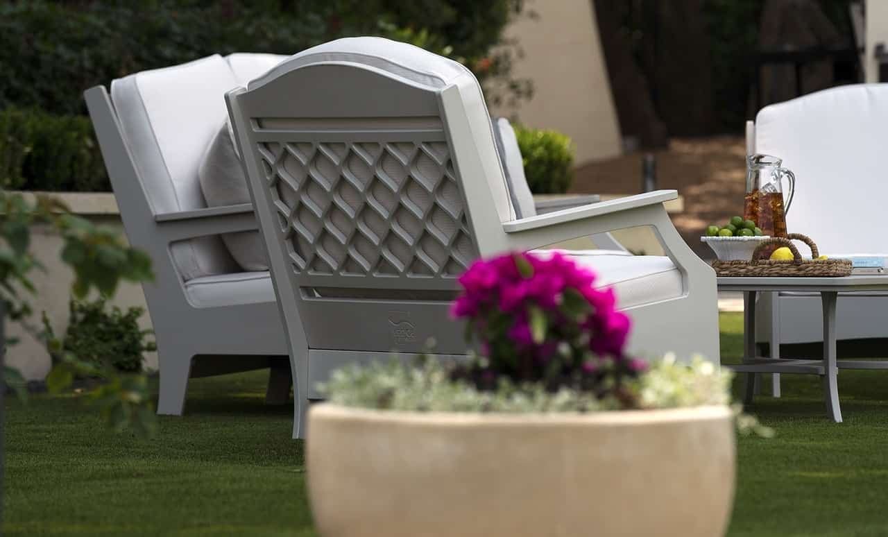 The Legacy Club chair is both sophisticated and comfortable.