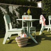 Ledge Lounger patio furniture created a beautiful outdoor enterainment area.