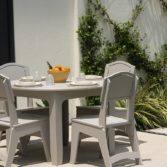 Ledge Lounger patio furniture can dress up any outdoor space.