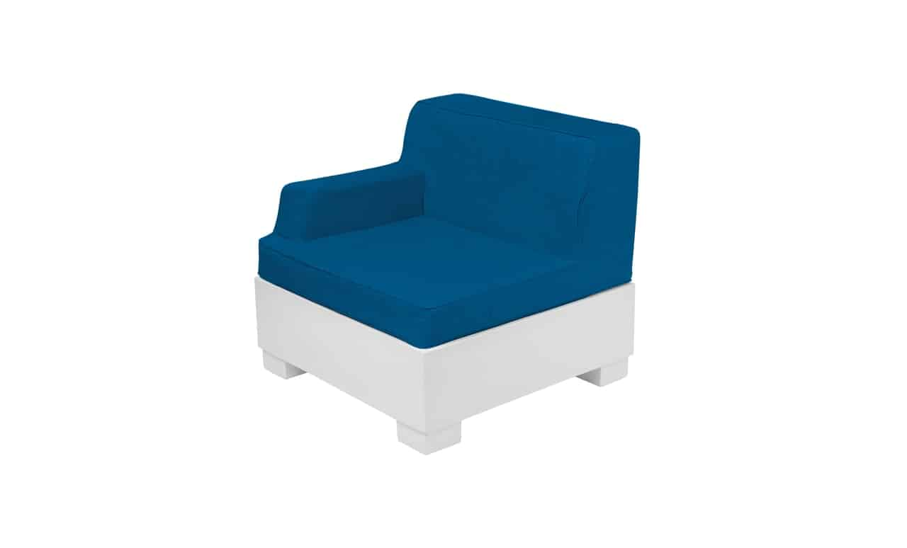 The Ledge Lounger Affinity sectional right arm piece.