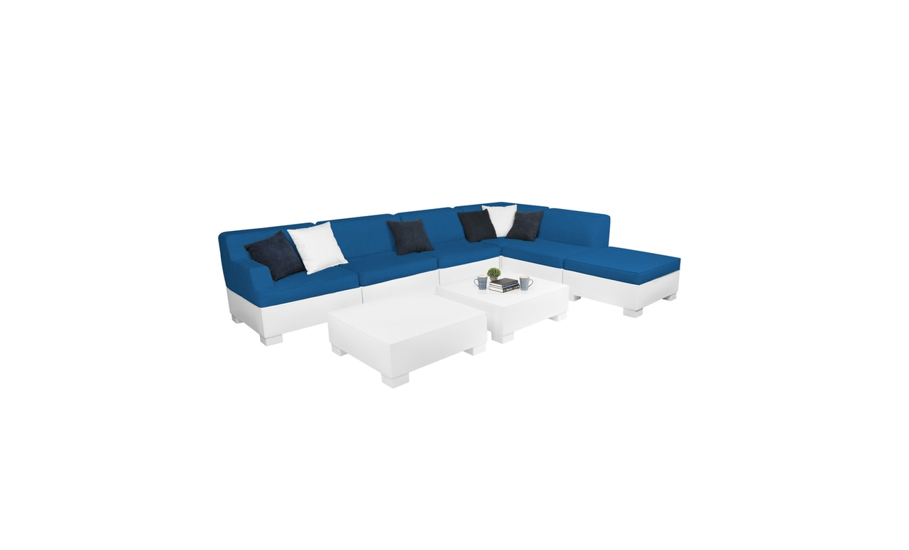 Affinity 8 Piece L-Shape is great for hosting friends and family.