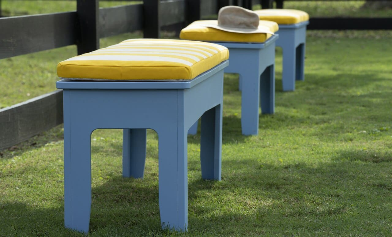 Dress up your dining bench with our dining bench cushions!