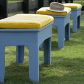 The Mainstay Dining Bench is the perfect outdoor seating solution.