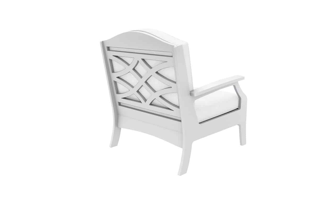 Add some style to your outdoor space with the Legacy Club Chair.