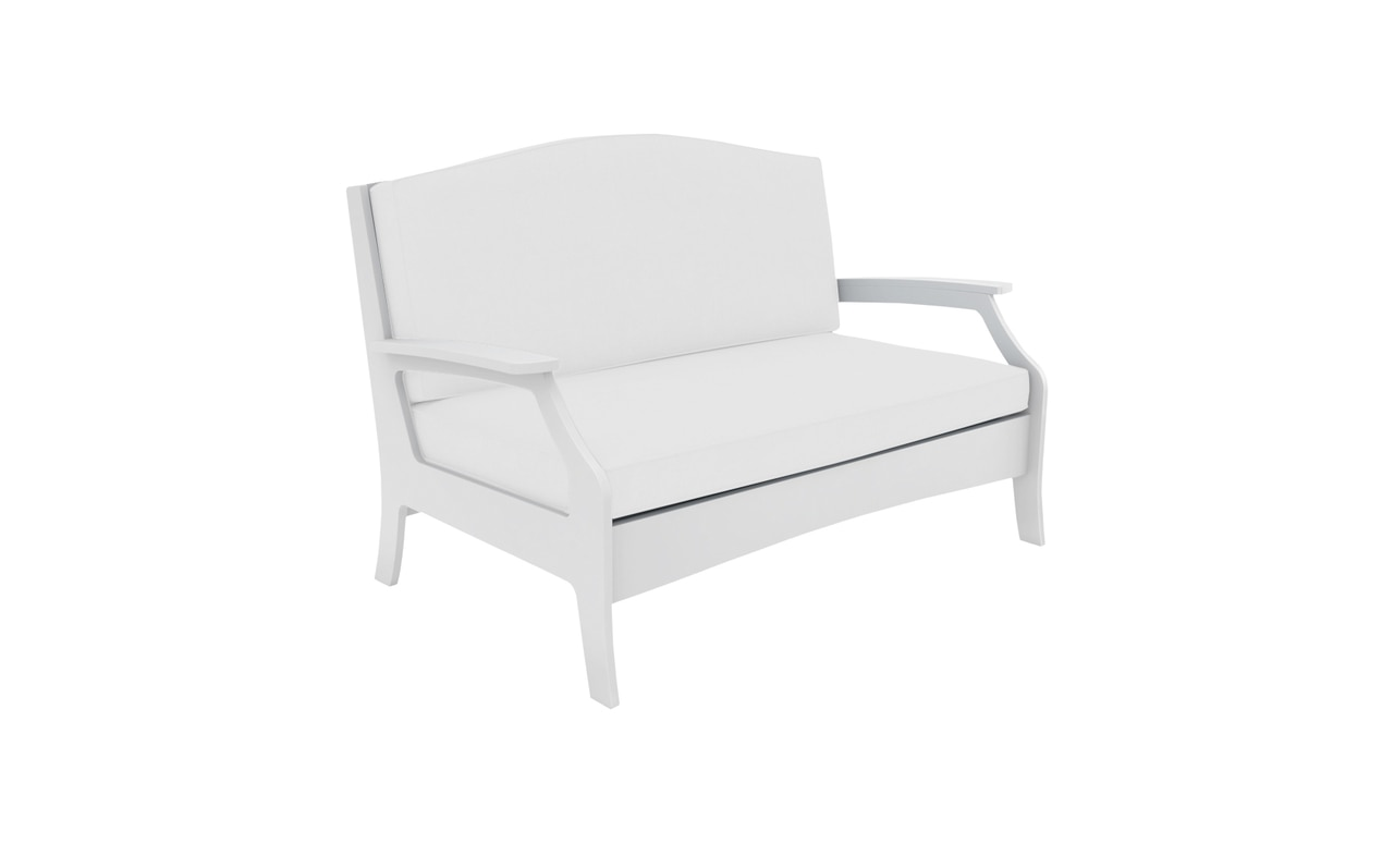 Add seating and style to your space with the Legacy Loveseat.