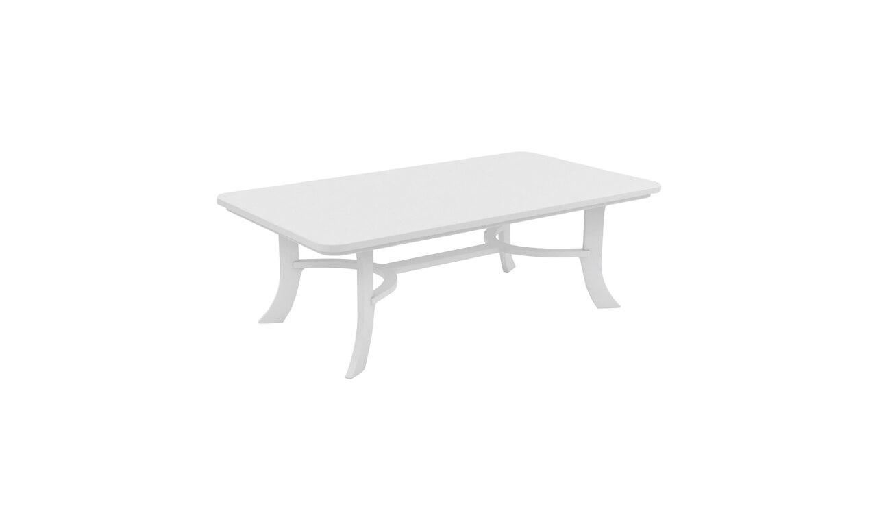 White Legacy Rectangular Coffee Table.