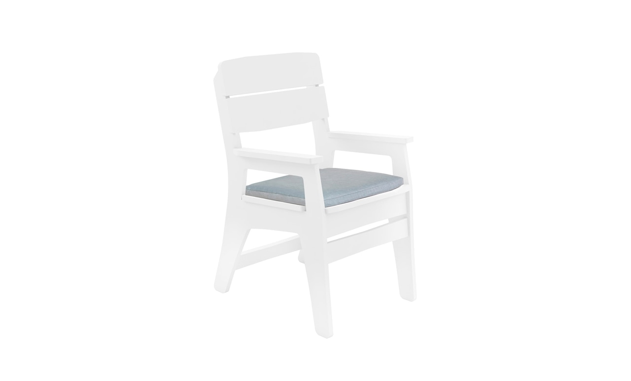 Add comfort to your outdoor dining chairs with the Mainstay Dining Chair Cushion.