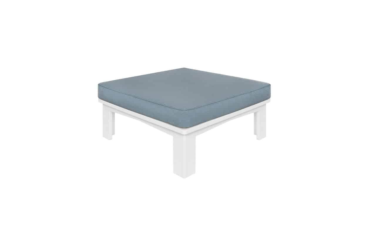 Ledge Lounger Mainstay Ottoman with cushion.