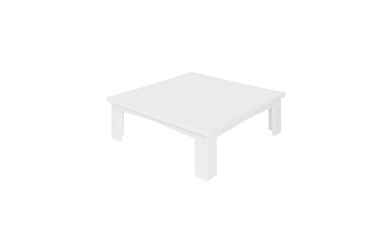 Mainstay sectional endcap in white.