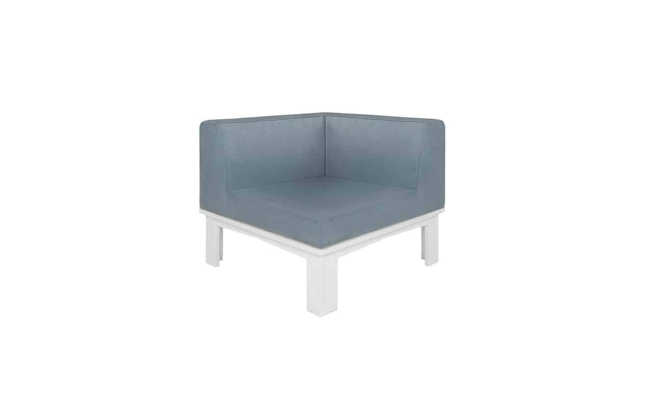 Ledge Lounger Mainstay Sectional corner piece.