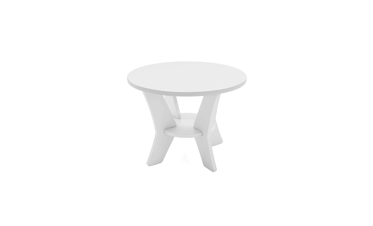 The Mainstay Round Side table makes a great addition to any space.