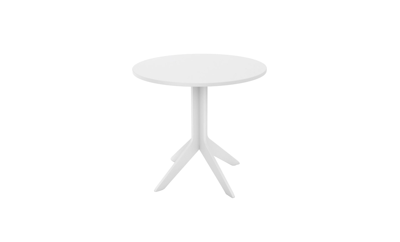 The Affinity Bistro table is a great addition to any patio or pool area.