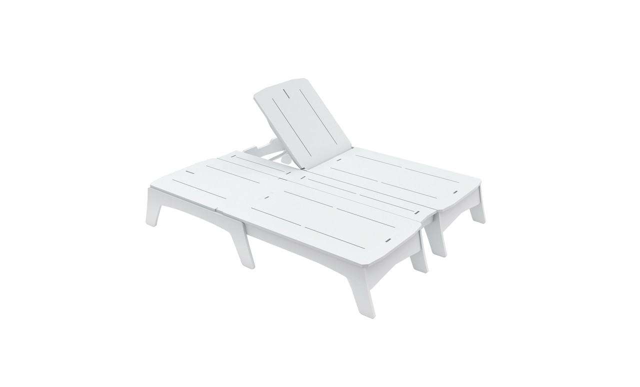 The Mainstay Double Chaise is a great addition to any outdoor space.