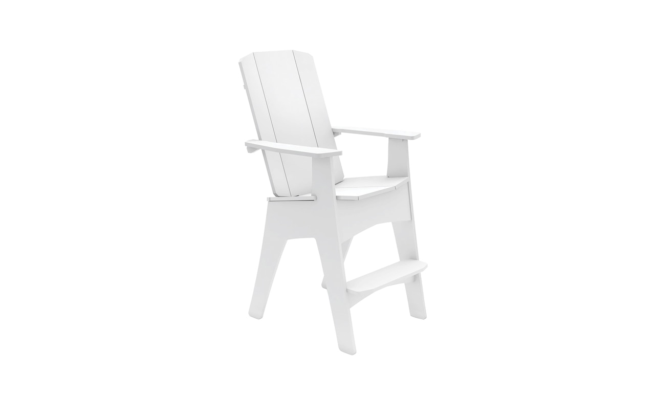 Tall Adirondack chair by Ledge Lounger.