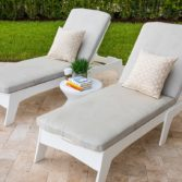 Ledge Lounger outdoor furniture makes any space inviting.