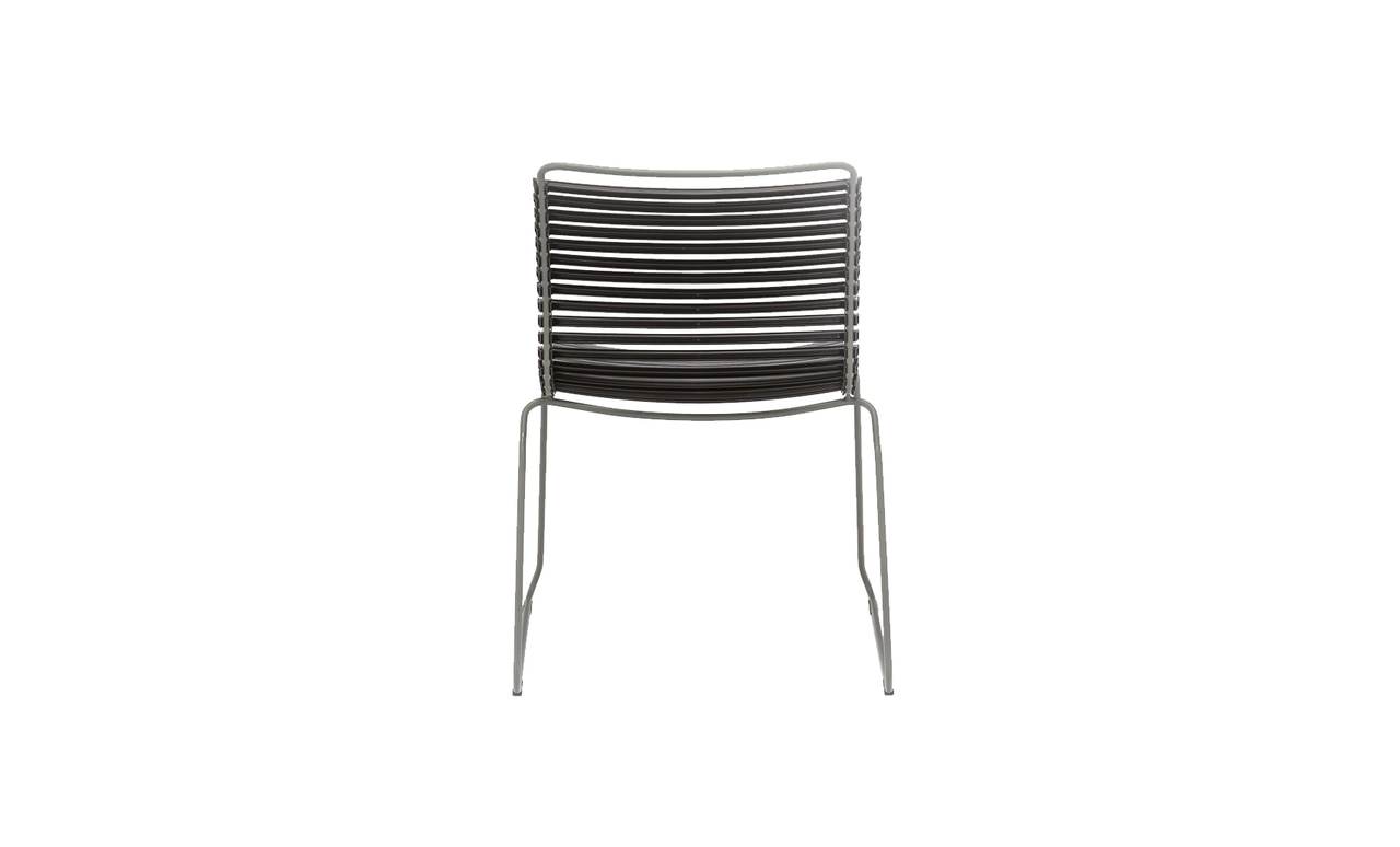 Add stylish seating to your outdoor are with the Playnk Dining Side Chair.