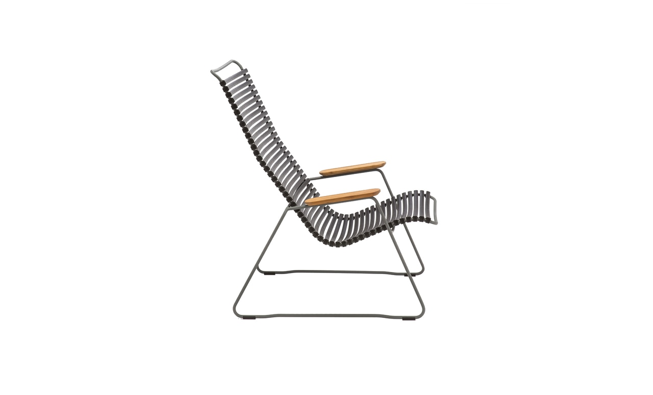 Kick back and relax in the Playnk lounge chair.