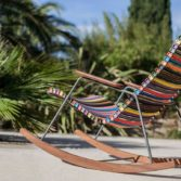 The colorful Playnk Rocker is as comfortable as it is stylish.