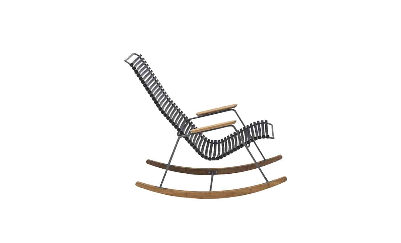 The Playnk Rocker offers comfort and style for your outdoor entertainment area.