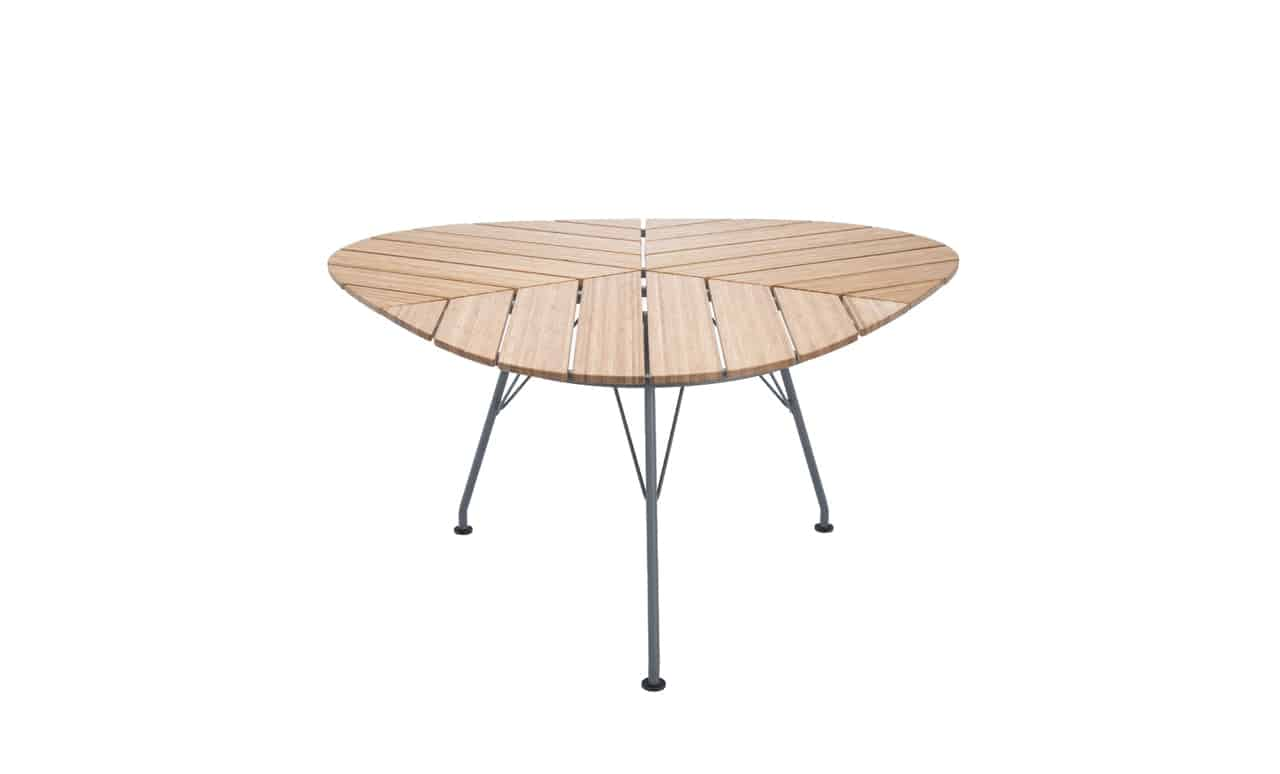 Add a touch of fun sophstication to your outdoor space with the Playnk triangle table.