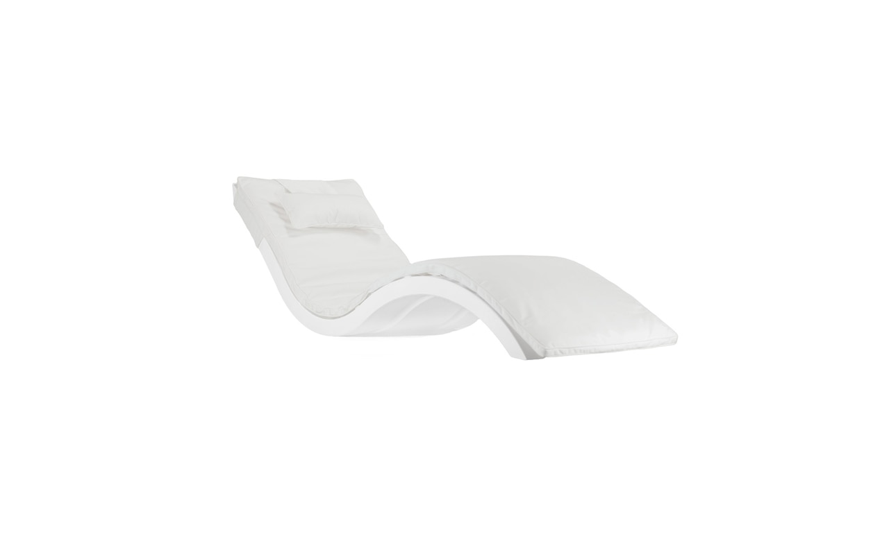 Relax comfortably with the Signature Chaise Cushion.