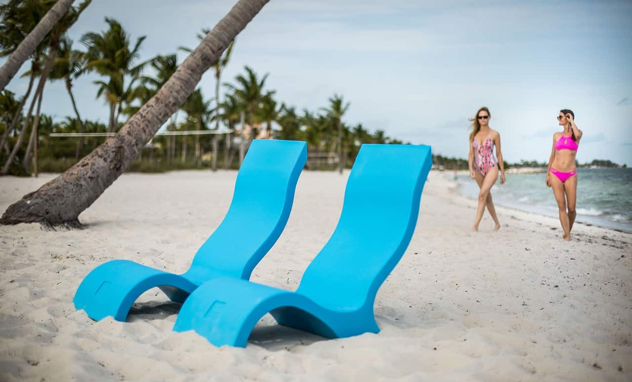 The Signature Chairs are great by the pool and at the beach.