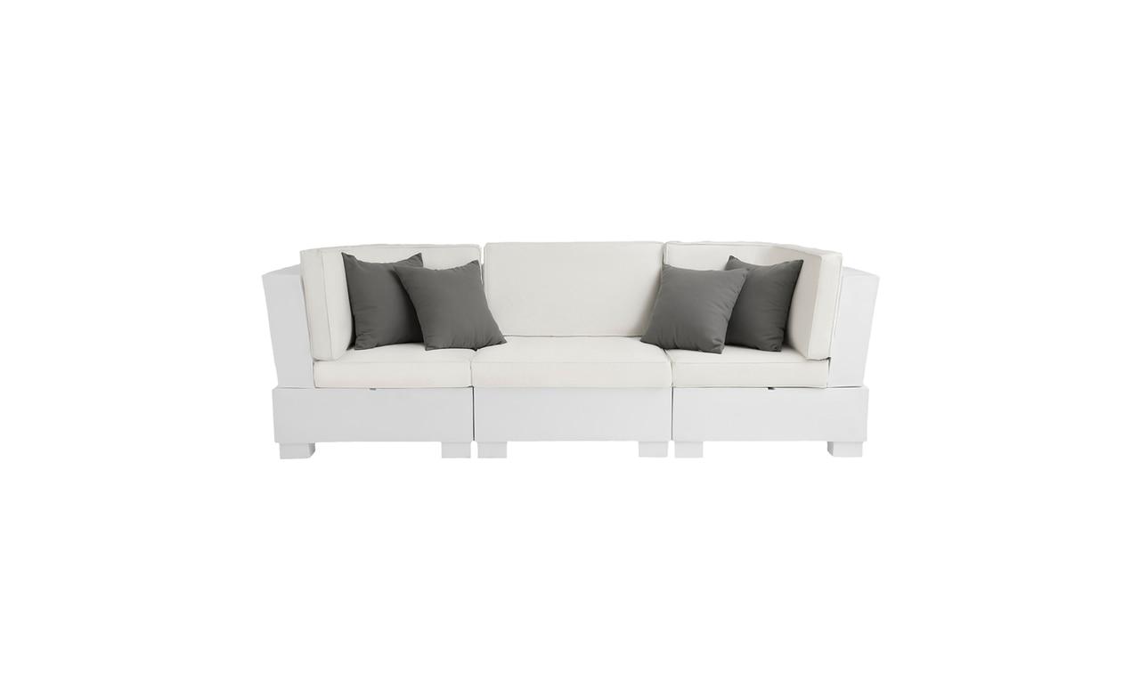 Ledge Lounger Signature Sectional 3 Piece Sofa.