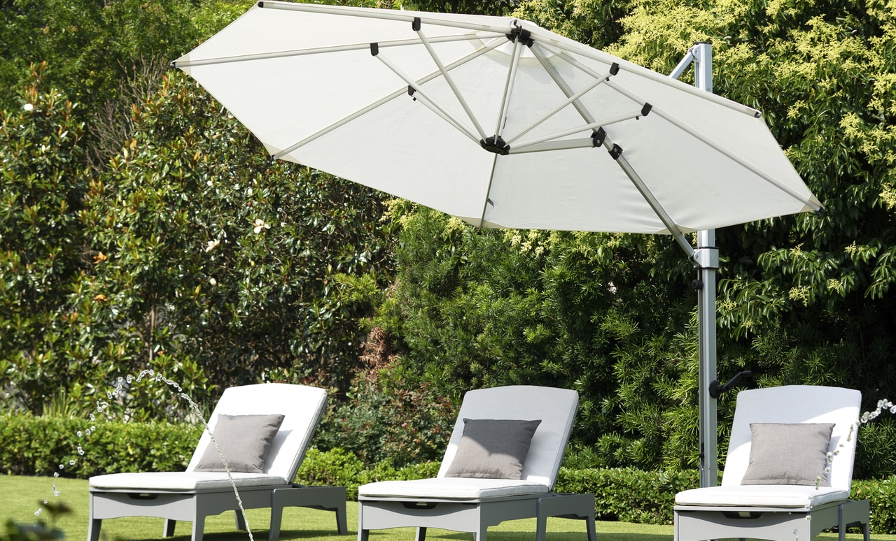 Add an Ultra Umbrella to your poolscape.