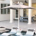 The Select Umbrella is perfect for in pool use.
