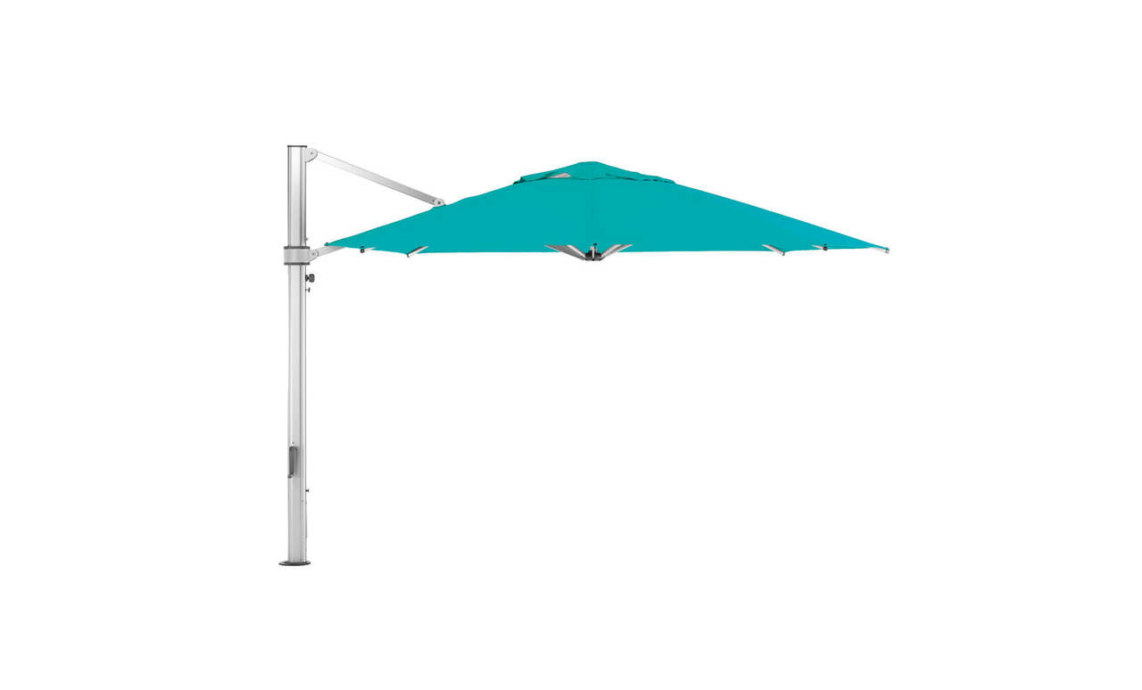 Add bright aqua to your poolside with this Pinnacle Ledge Loungers! Shop now!