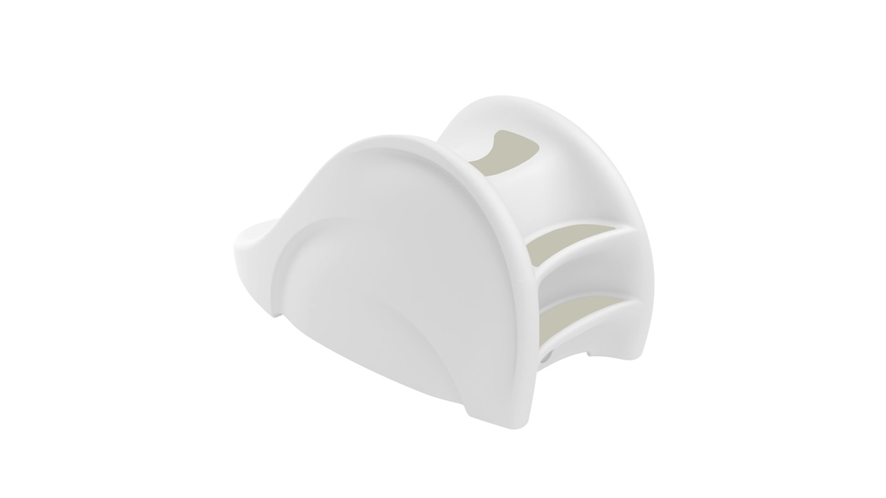 The Ledge Lounger Signature Slide in white color offering.
