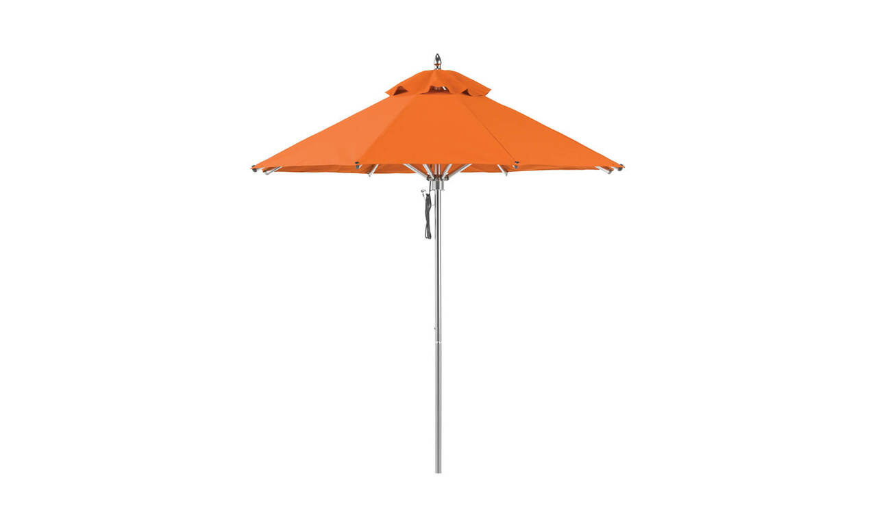 Add a tropical feel and the shaded sophistication you need with an umbrella by Ledge Loungers!