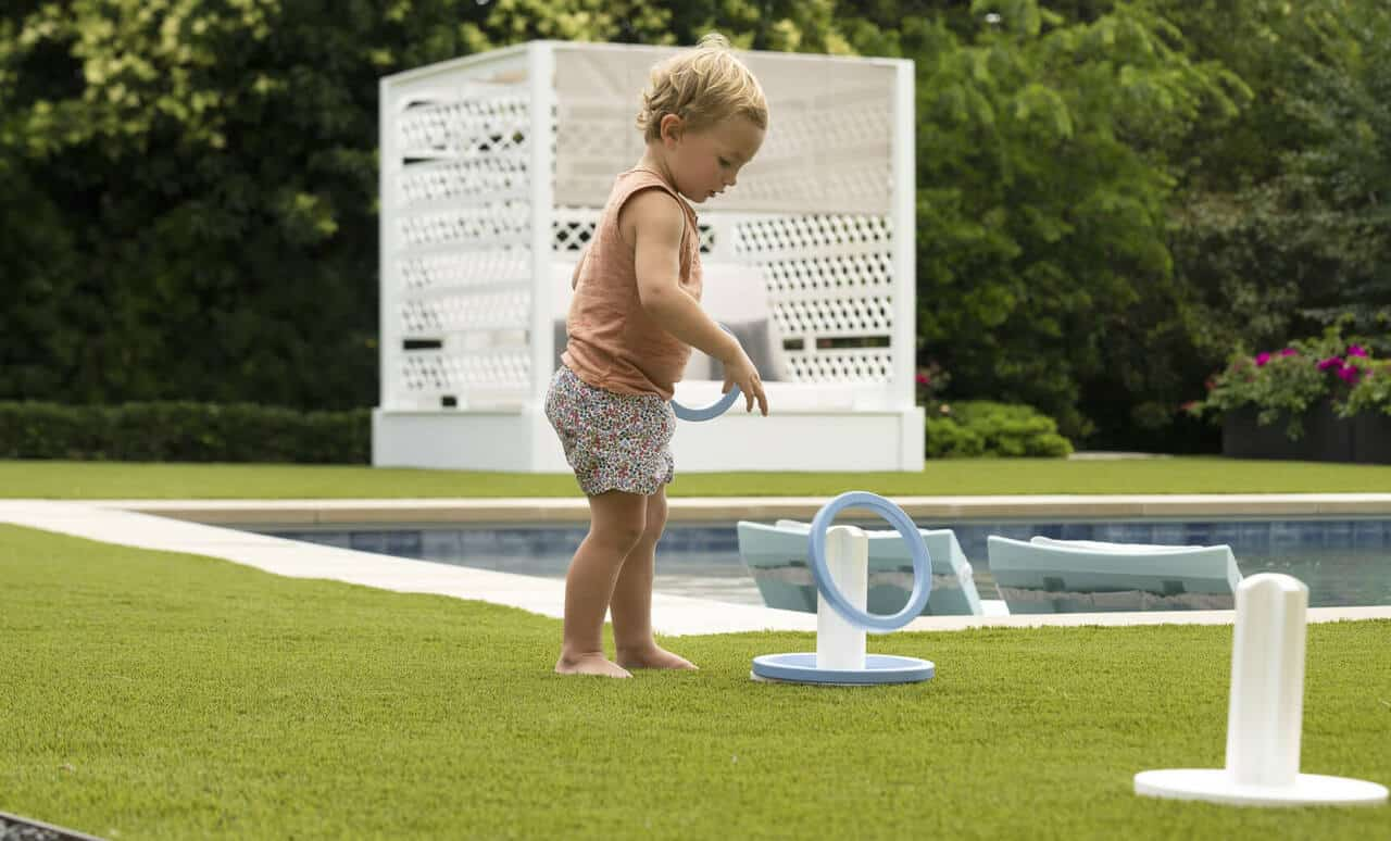 Ledge Loungers provides outdoor games that look stylish while providing hours of fun!