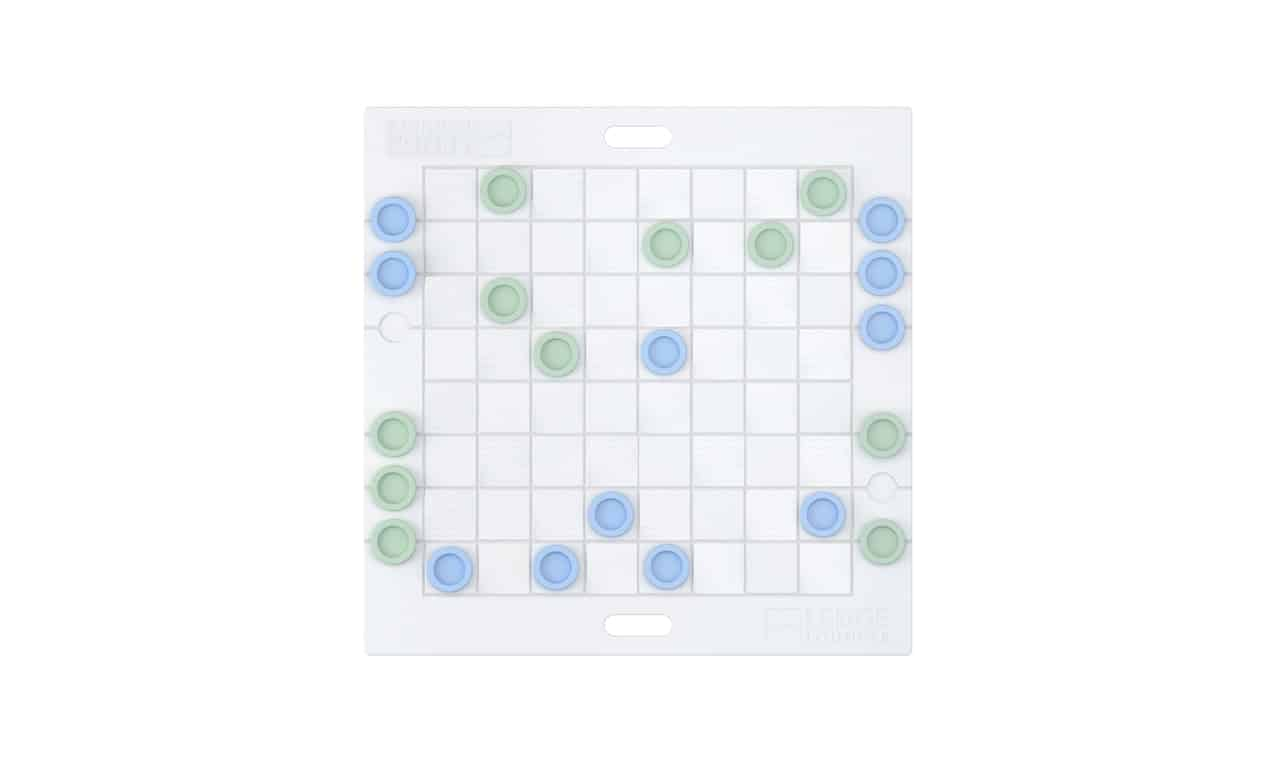 Our checkers game board offers fun for the whole family.