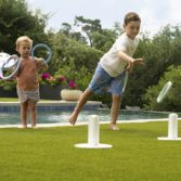 Ring toss is a great game for the whole family.
