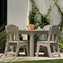 Ledge Loungers pool side table