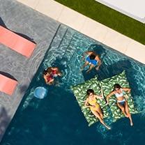 Ledge Loungers pool furniture makes life enjoyable