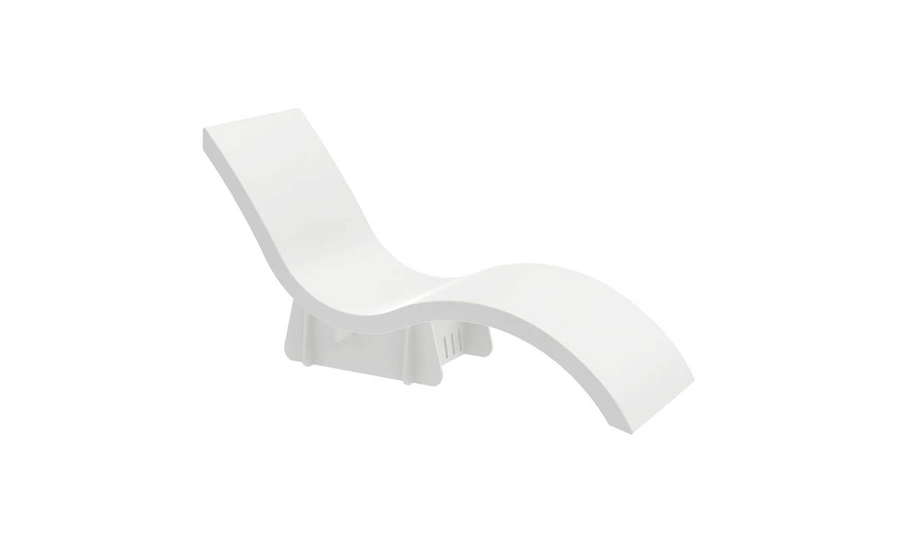 Signature Riser with Low Back Chaise